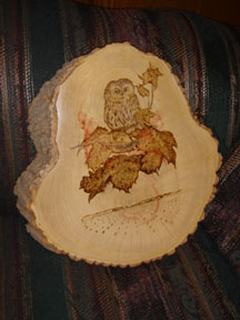 Pyrography Wood Burning Misty Hollow Carving Wood